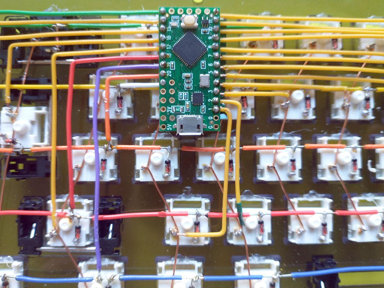 just teensy soldered